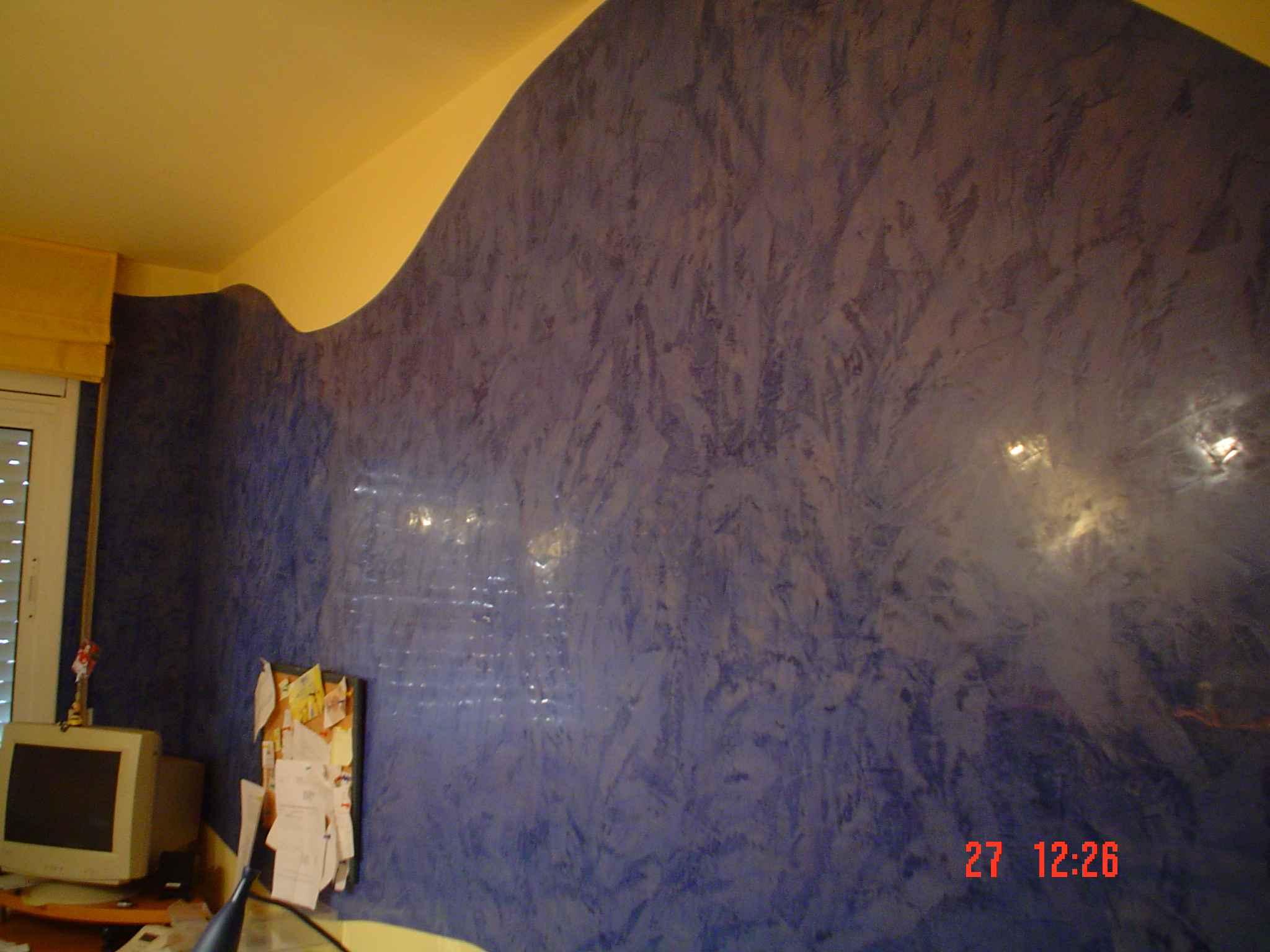 Pintor en terrassa josep m ros pintura decorativa e - Tipos de pinturas para paredes ...